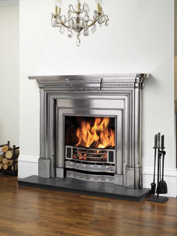 Knightsbridge Insert, polished, Also Georgian, fully polished mantel.
