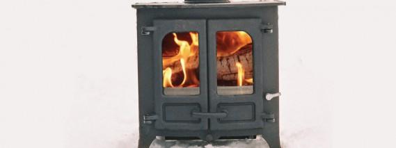 Charnwood Island stove
